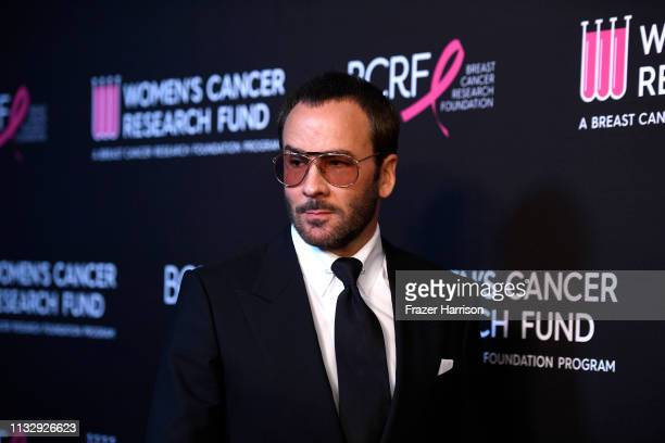 Tom Ford attends The Women's Cancer Research Fund's An Unforgettable Evening Benefit Gala at the Beverly Wilshire Four Seasons Hotel on February 28...