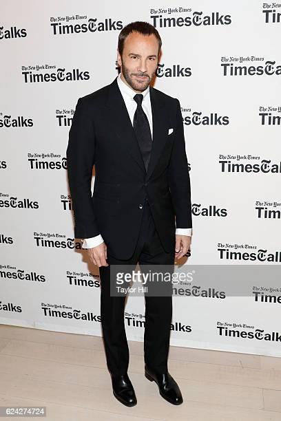 Tom Ford attends TimesTalks at TheTimesCenter on November 18 2016 in New York City