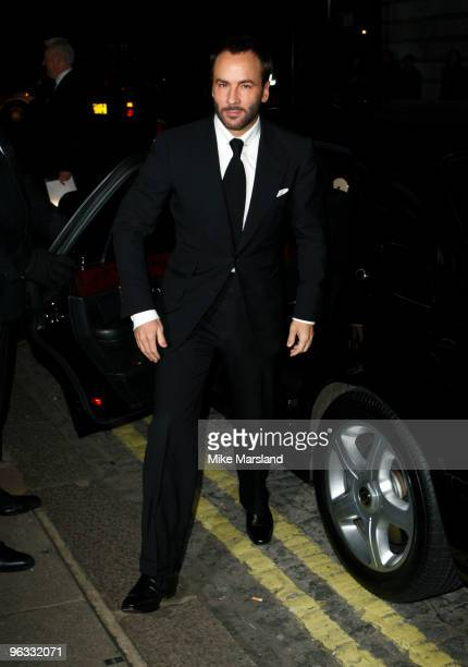 Tom Ford attends UK Film Premiere of 'A Single Man' at The Curzon Mayfair on February 1, 2010 in London, England.