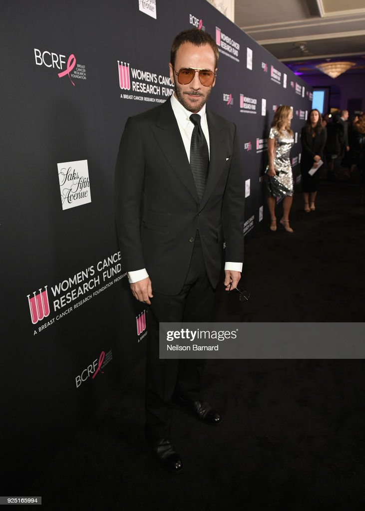 Tom Ford attends WCRF's 'An Unforgettable Evening' Presented by Saks Fifth Avenue on February 27, 2018 in Beverly Hills, California.