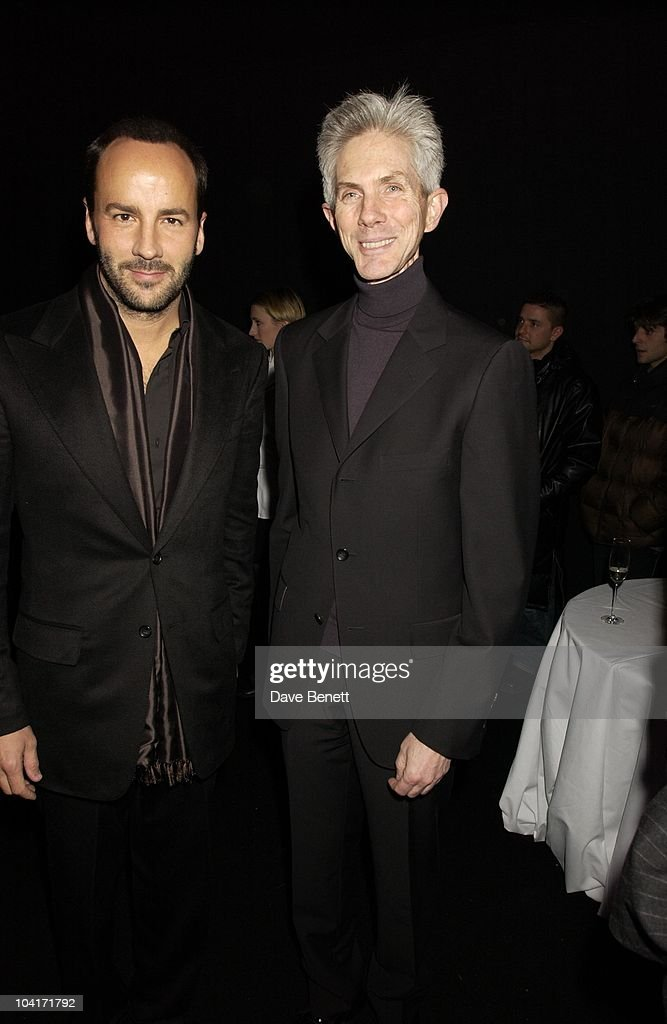 Tom Ford & Friend Richard, Valentino Party, At The Serpentine Gallery, London