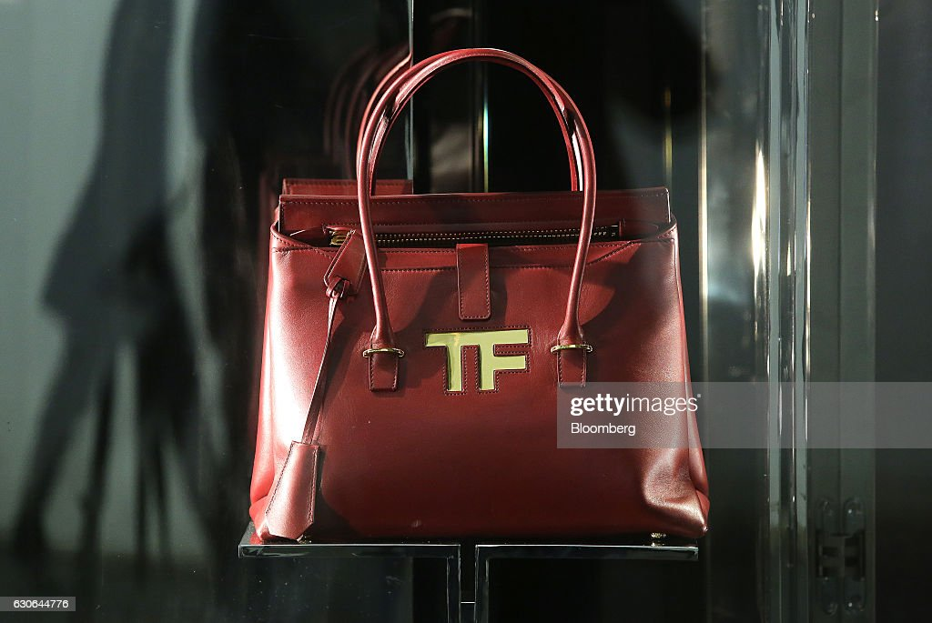 A Tom Ford Icon handbag sits on display in a Tom Ford luxury boutique on Tretyakov Drive in Moscow, Russia, on Wednesday, Dec. 28, 2016. President-elect Donald Trump said Wednesday that the U.S. should move on rather than retaliate against Russia for interfering in the 2016 election, with the Obama administration expected to soon take action against Moscow. Photographer: Andrey Rudakov/Bloomberg via Getty Images