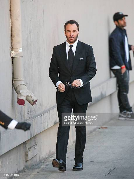 Tom Ford is seen at 'Jimmy Kimmel Live' on December 08, 2016 in Los Angeles, California.