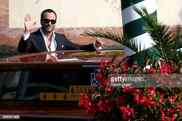 Tom Ford is seen during 73rd Venice Film Festival on September 2 2016 in Venice Italy