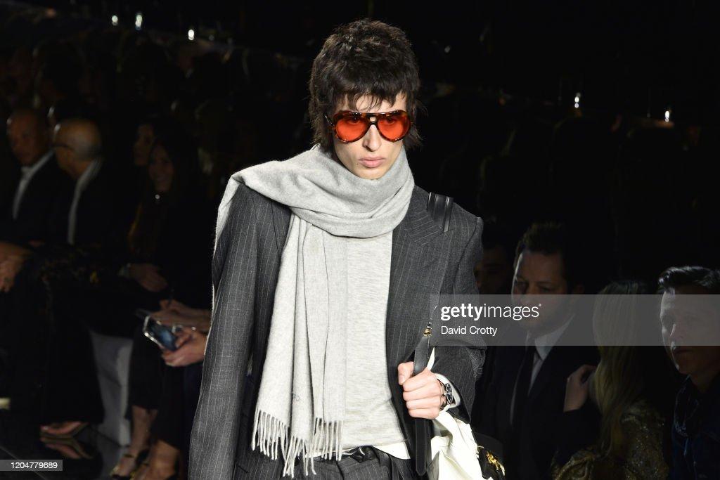 Tom Ford AW/20 Fashion Show : ニュース写真