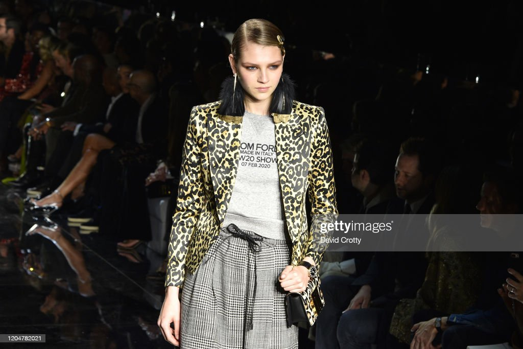 Tom Ford AW/20 Fashion Show : ニュース写真