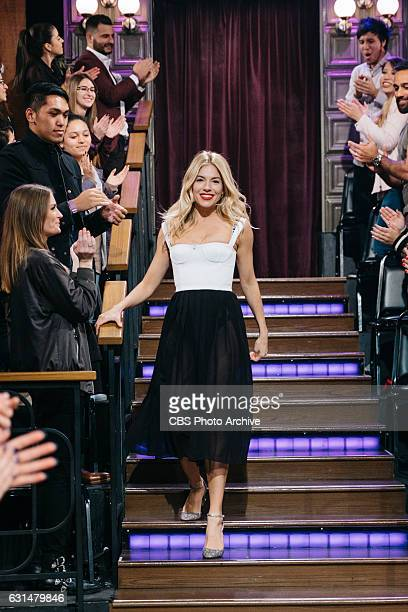 Tom Ford Sienna Miller and Neil Patrick Harris chat with James Corden during The Late Late Show with James Corden Monday January 9 2017 On The CBS...