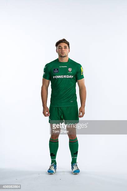 Tom Fowlie of London Irish poses for a picture during the BT PhotoShoot at Sunbury Training Ground on August 27 2014 in Sunbury England
