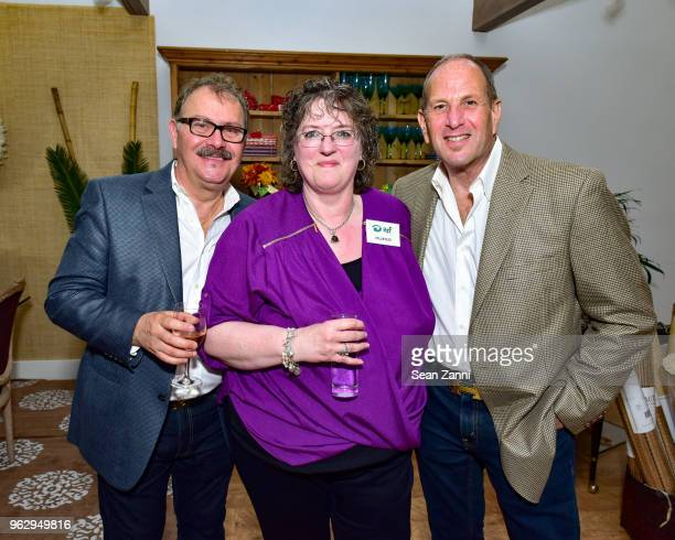 Tom Frasca Joan Salazar and Allan Adler attend ARF Thrift Shop Designer Show House Sale at ARF Thrift Treasure Shop on May 26 2018 in Sagaponack New...