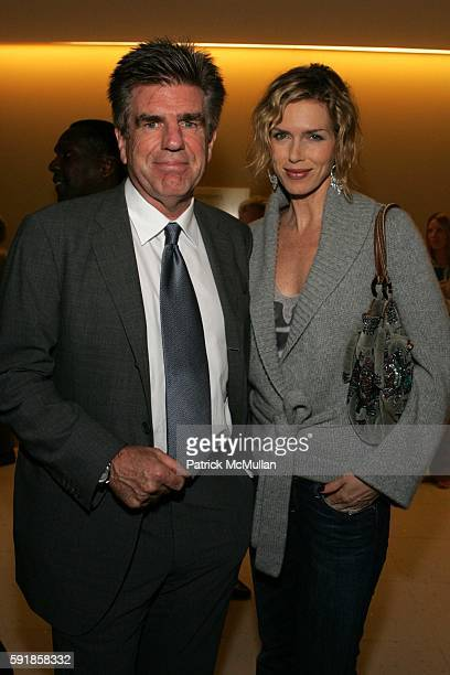 Tom Freston and Kathy Freston attend A Private Screening of Warner Independent Pictures Good Luck Good Night at Time Warner Theatre on October 5 2005...