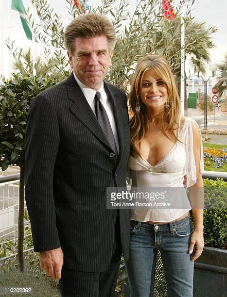 Tom Freston, MTV Networks President and Carmen Electra