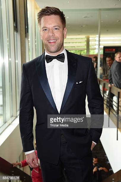 Tom Gaebel attends the 25th Anniversary Of DKMS May 27 2016 in Berlin Germany