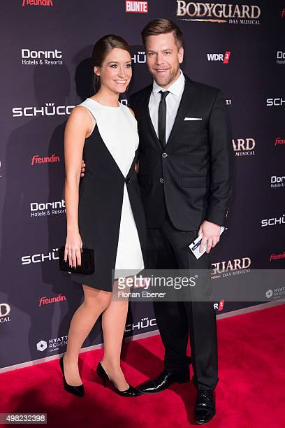 Tom Gaebel attends the 'Bodyguard Das Musical' gala premiere at Musical Dome Koeln on November 21 2015 in Cologne Germany