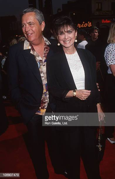 "Tom Gallagher and Suzanne Pleshette during ""Buffy the Vampire Slayer"" Los Angeles Premiere at Mann's Village Theatre in Westwood, California, United..."