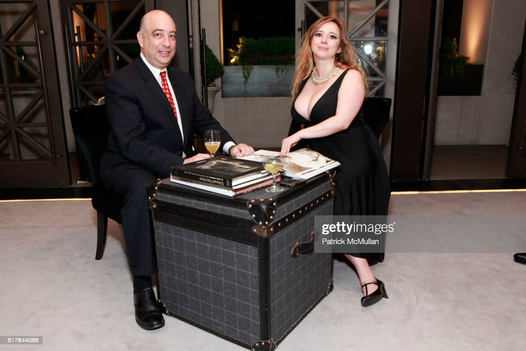 Tom Gass and Dr. Dana York attend GQ And TOMMY HILFIGER Host A Haberdashery Event With Style Correspondent BRETT FAHLGREN at Tommy Hilfiger Store on October 13, 2010 in New York City.