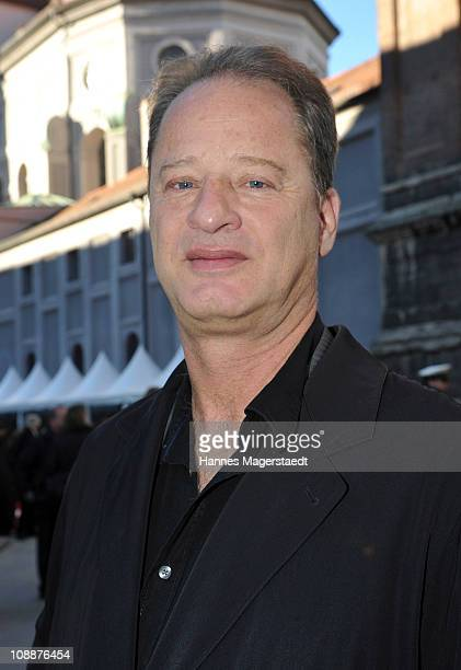 Tom Gerhardt attends the memorial service for Bernd Eichinger at the St Michael Kirche on February 07 2011 in Munich Germany Producer Bernd Eichinger...