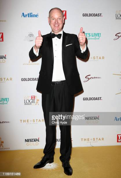 Tom Gleeson arrives at the 61st Annual TV WEEK Logie Awards at The Star Gold Coast on June 30 2019 on the Gold Coast Australia