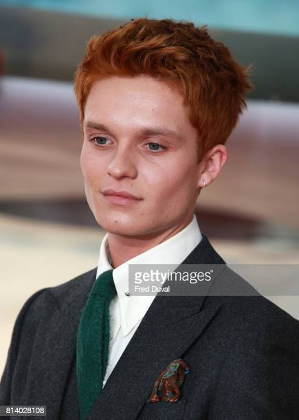 Tom GlynnCarney arrives at the 'Dunkirk' World Premiere at Odeon Leicester Square on July 13 2017 in London England