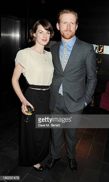 Tom GoodmanHill and wife Kerry attend an after party celebrating Press Night of 'Death And The Maiden' at Mint Leaf Restaurant Bar on October 24 2011...