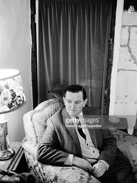 Tom Graveney of Worcestershire and England photographed at his home circa February 1966
