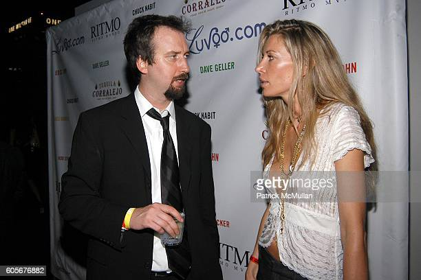 Tom Green and Jackie Atell attend Miss Universe Post Pageant VIP Party hosted by Chuck Nabit Dave Geller Ed St John Greg Barnhill Freddie Wyatt Rob...