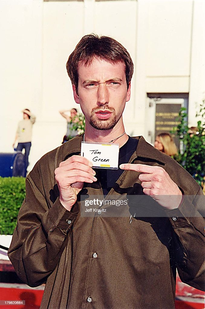 Tom Green during 2000 Blockbuster Awards at Shrine Auditorium in Los Angeles, California, United States.