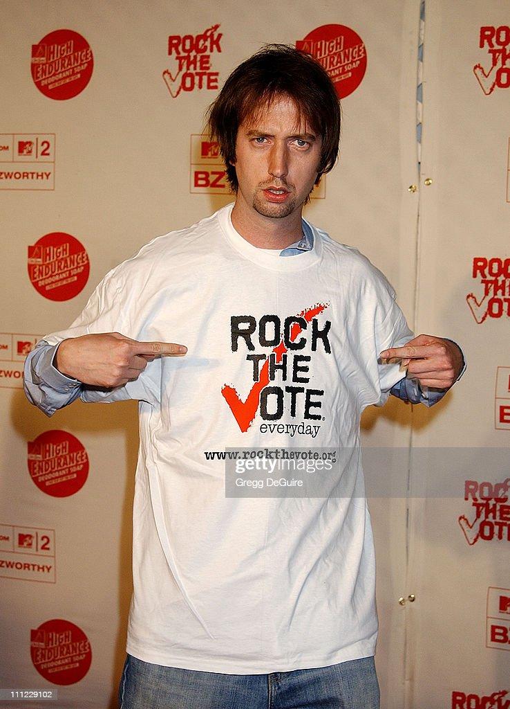 Rock The Vote 2002 Patrick Lippert Awards - Arrivals