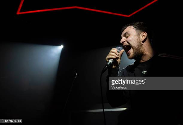 Tom Grennan performs at Jimmys on March 21 2019 in Manchester United Kingdom