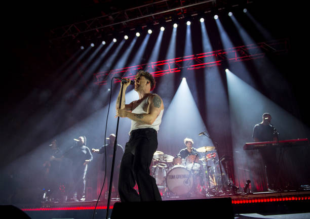 GBR: Tom Grennan Performs At O2 Academy Bournemouth