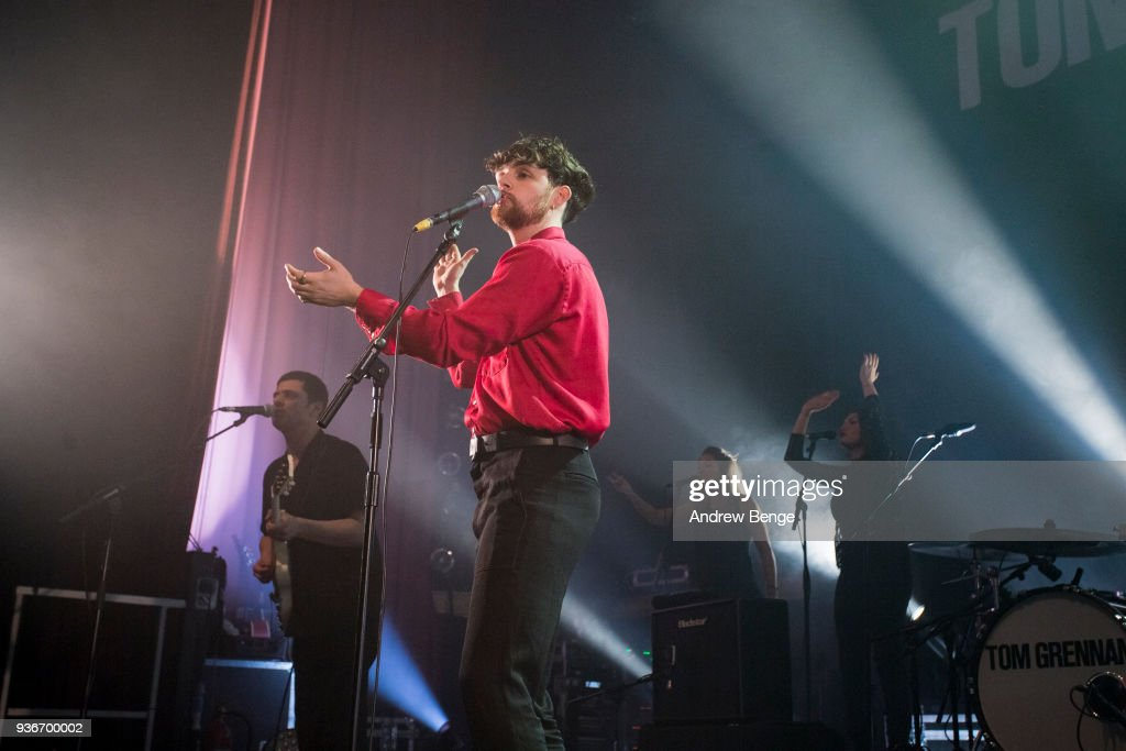 Tom Grennan Performs At O2 Ritz, Manchester