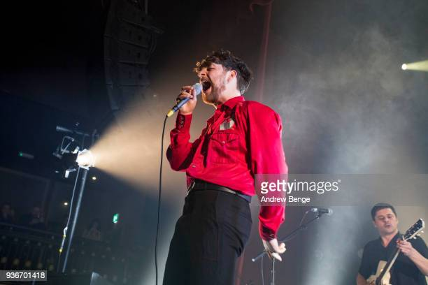 Tom Grennan performs at The O2 Ritz Manchester on March 22 2018 in Manchester England