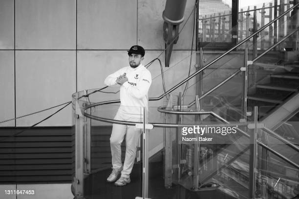 Tom Haines of Sussex walks out to the pitch during the LV= Insurance County Championship match between Sussex and Lancashire at Emirates Old Trafford...