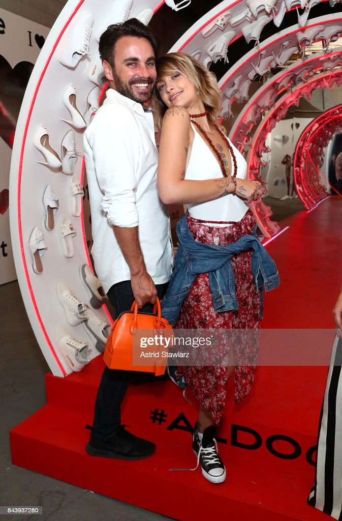 Tom Hamilton and Paris Jackson attend the Refinery29 Third Annual 29Rooms: Turn It Into Art event on September 7, 2017 in the Brooklyn borough of New York City.