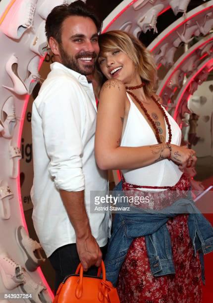 Tom Hamilton and Paris Jackson attend the Refinery29 Third Annual 29Rooms Turn It Into Art event on September 7 2017 in the Brooklyn borough of New...