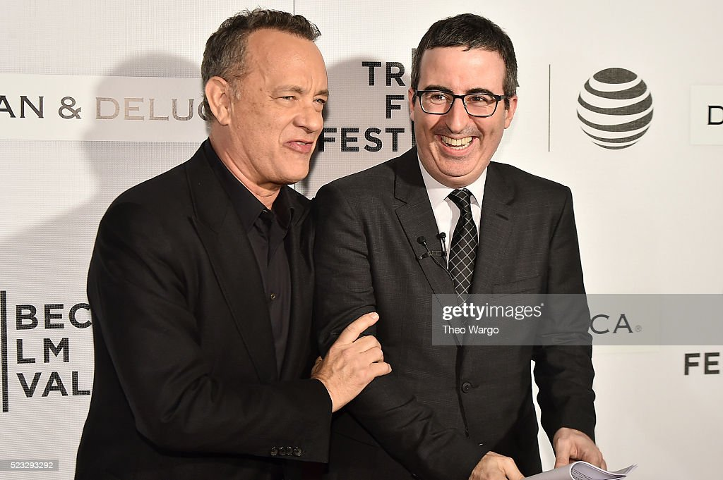 NY: Tribeca Talks Storytellers: Tom Hanks With John Oliver