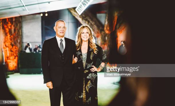 Tom Hanks and Rita Wilson attend The Academy Museum of Motion Pictures Opening Gala at Academy Museum of Motion Pictures on September 25, 2021 in Los...