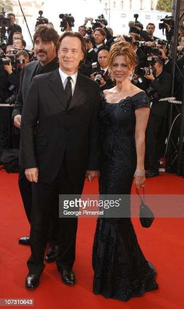 Tom Hanks and Rita Wilson during 2006 Cannes Film Festival Opening Night Gala and World Premiere of 'The Da Vinci Code' Arrivals at Palais de...