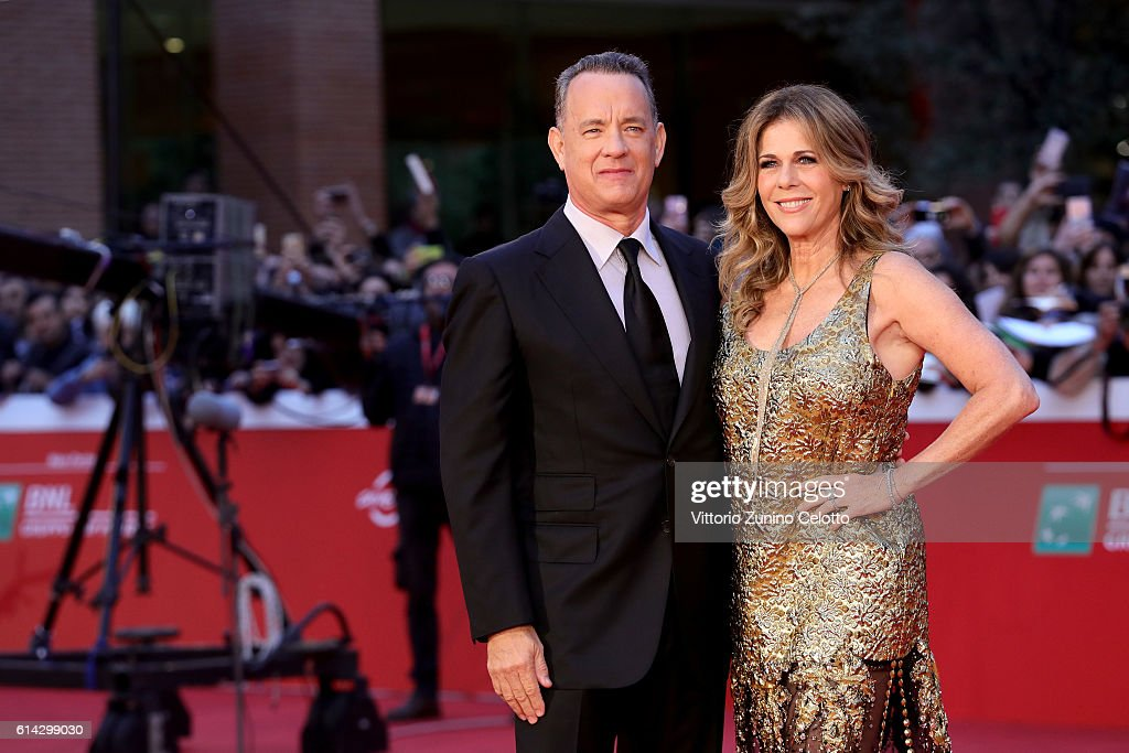 Tom Hanks Red Carpet - 11th Rome Film Festival : News Photo