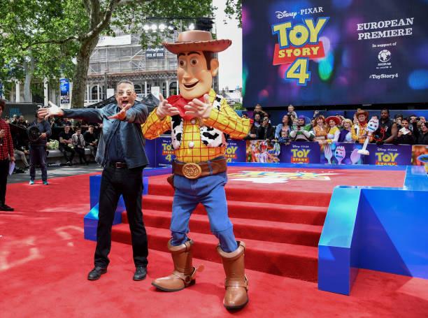 GBR: Disney and Pixar's Toy Story 4 European Premiere
