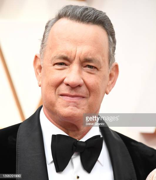 Tom Hanks arrives at the 92nd Annual Academy Awards at Hollywood and Highland on February 09 2020 in Hollywood California