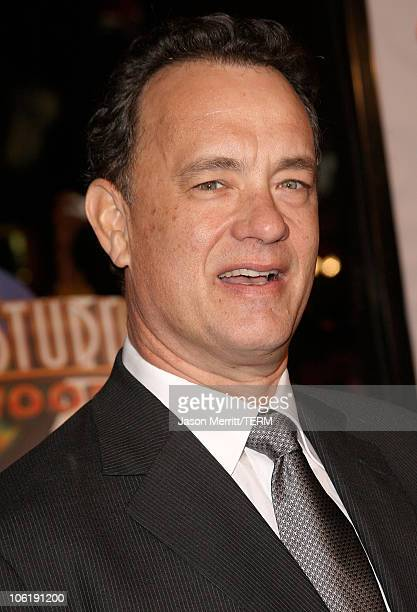 """Tom Hanks arrives to the premiere of Universal Pictures' """"Charlie Wilson's War"""" at City Walk Cinemas on December 10, 2007 in Universal City,..."""