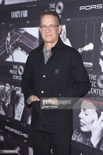 Tom Hanks attends Joni 75 A Birthday Celebration Live At The Dorothy Chandler Pavilion on November 7 2018 in Los Angeles California