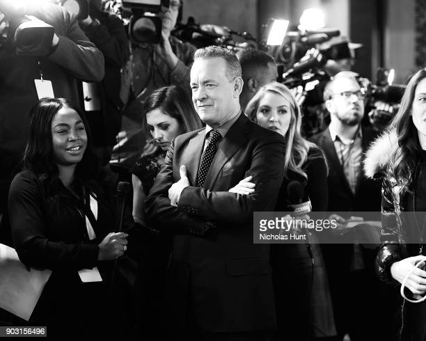Tom Hanks attends the 2018 National Board Of Review Awards Gala at Cipriani 42nd Street on January 9 2018 in New York City