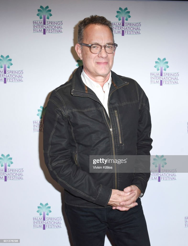 Tom Hanks attends the 29th Annual Palm Springs International Film Festival Opening Night Screening of 'The Post' at Palm Springs High School on January 4, 2018 in Palm Springs, California.
