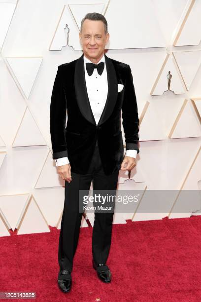 Tom Hanks attends the 92nd Annual Academy Awards at Hollywood and Highland on February 09 2020 in Hollywood California