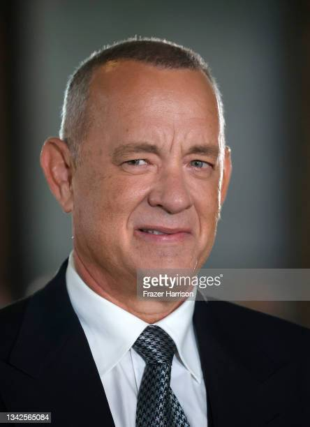 Tom Hanks attends The Academy Museum of Motion Pictures Opening Gala at The Academy Museum of Motion Pictures on September 25, 2021 in Los Angeles,...