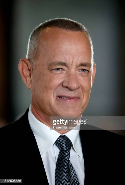 Tom Hanks attends The Academy Museum Of Motion Pictures Opening Gala at Academy Museum of Motion Pictures on September 25, 2021 in Los Angeles,...