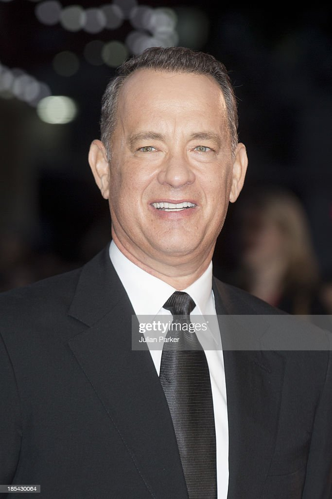 Tom Hanks attends the Closing Night Gala European Premiere of 'Saving Mr Banks' during the 57th BFI London Film Festival at Odeon Leicester Square on October 20, 2013 in London, England.