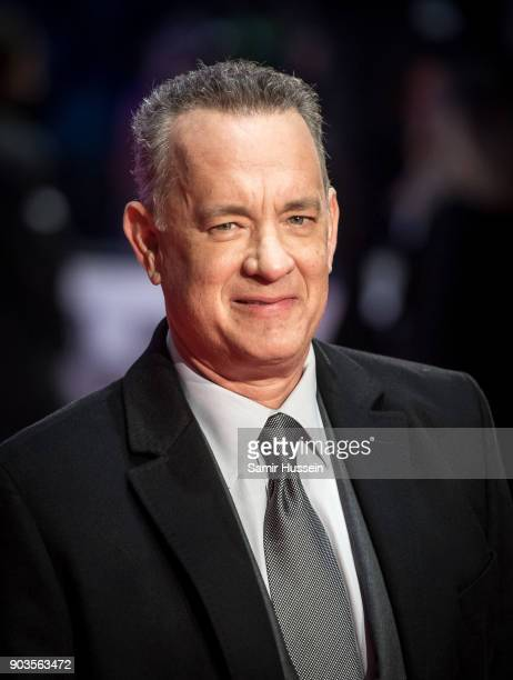 Tom Hanks attends 'The Post' European Premeire at Odeon Leicester Square on January 10 2018 in London England