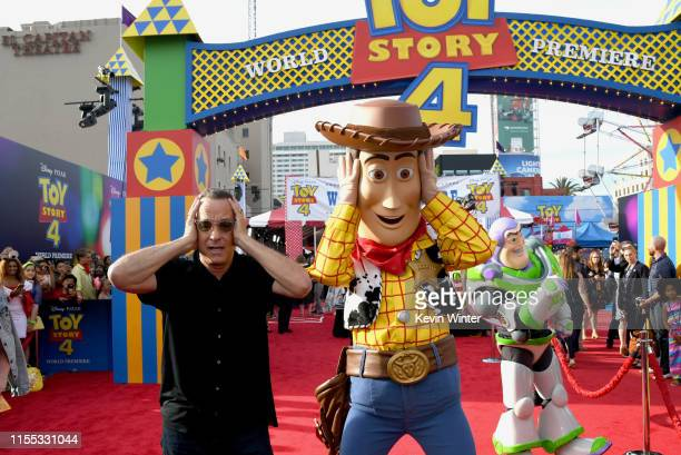 Tom Hanks attends the premiere of Disney and Pixar's Toy Story 4 on June 11 2019 in Los Angeles California